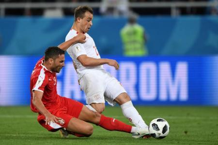 Swiss stun Serbs in comeback win