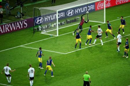 Loew admits Germany had 'a bit of luck'