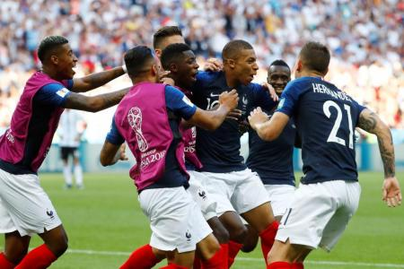 Mbappe upstages Messi as France go through to last 8