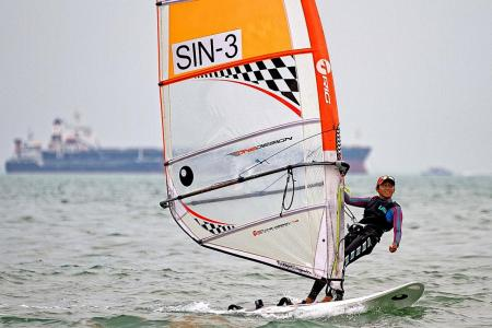 Teenage windsurfer Marsha set to realise her dreams
