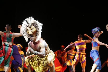 Singaporean helps Lion King animals come alive on stage