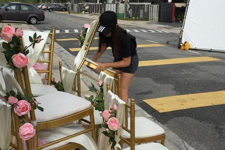 ITE student gets to work on local films