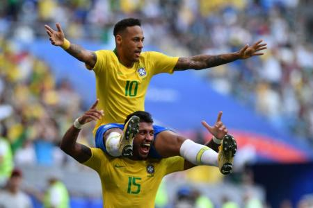Neymar shines as Brazil beat Mexico to enter last 8