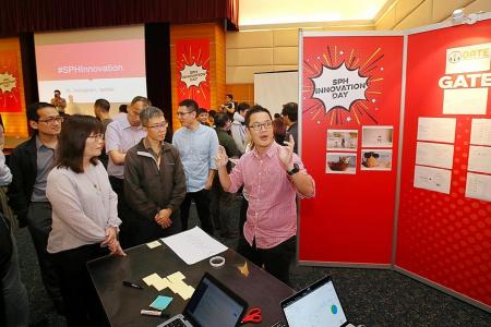 SPH's inaugural Innovation Day throws up unique ideas