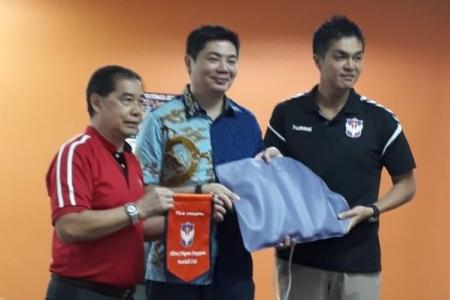 Albirex and sponsor contribute to community