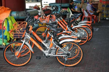 Seven companies apply to LTA for bike-sharing licence