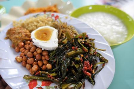 Makansutra: Seek comfort in sambal porridge