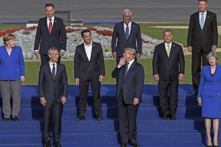 Trump hails 'tremendous progress' on Nato defence spending
