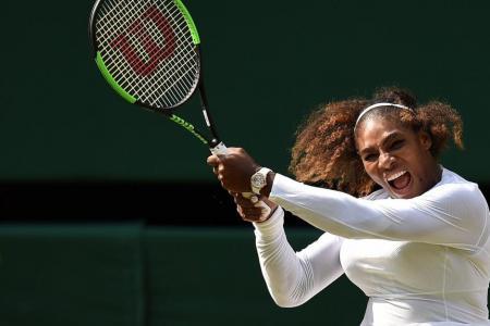 Serena bids to become first mum to win Wimbledon since 1980