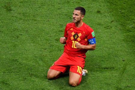 Martinez praises Hazard as Real Madrid rumours swirl
