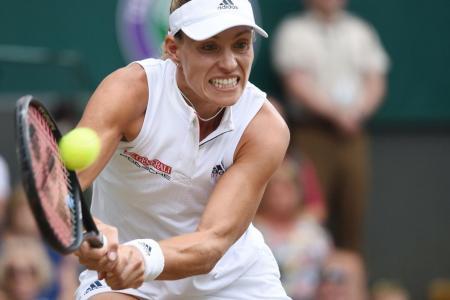 Kerber stuns Serena to claim Wimbledon title