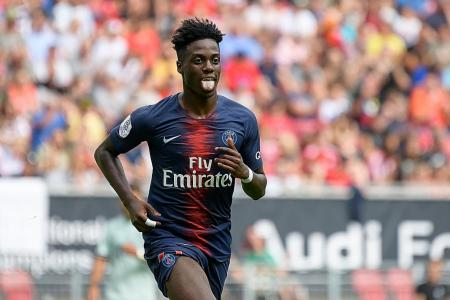 PSG's Weah excited for the future