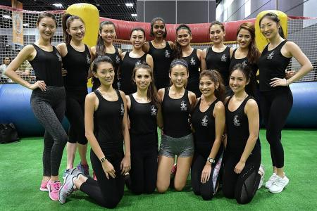 Being fit makes Miss Universe Singapore finalists feel fab