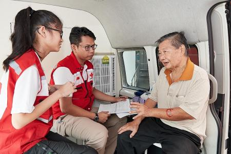 More than 200 residents benefit from healthcare on wheels