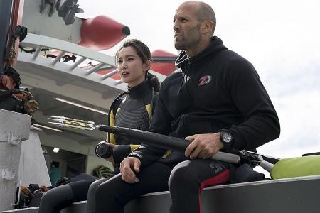 Li Bingbing battles massive shark in new Hollywood movie The Meg