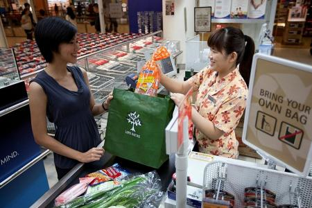 Biggest local supermarket chains say plastic bag use has dropped