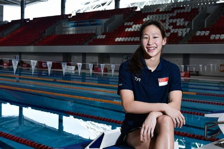 Swimmer Cherlyn improves after focusing on process instead of result