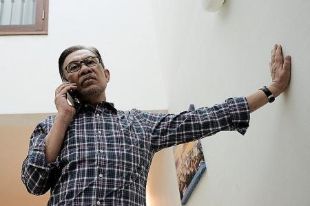 Anwar says not in rush to get into parliament