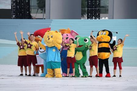 Familiar mascots provide a fillip of nostalgia