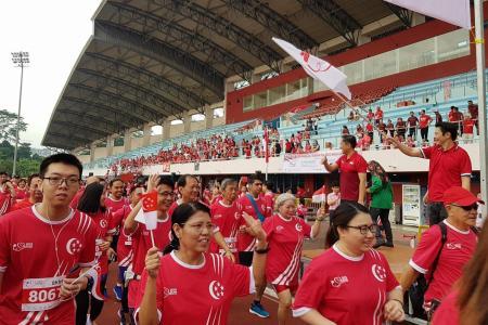 5,000 take a walk for Singapore