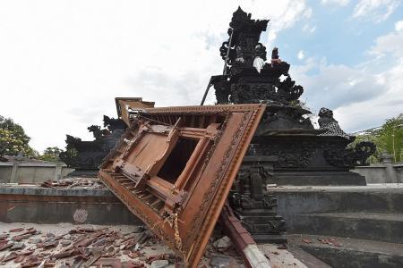 S'porean caught in 3rd Lombok quake