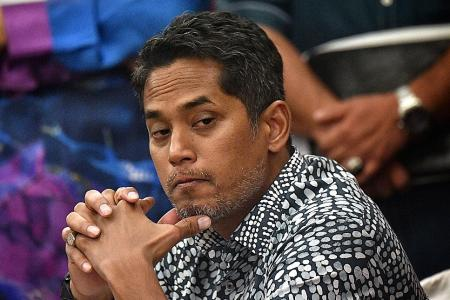 Umno MP Khairy lodges police report over Finance Minister's claim
