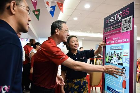 Radin Mas residents can now apply for jobs through SMS