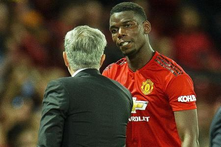 Man United star Pogba tight-lipped for fear of being fined