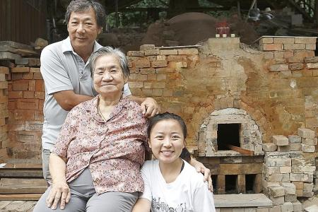 Owners fired up to keep dragon kiln alive