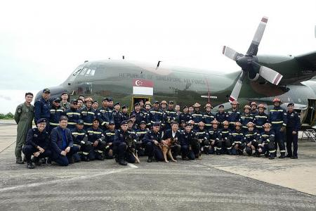 Police dogs deployed for mission in Laos