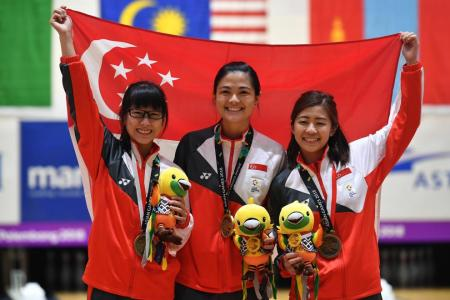 Asiad bronze for Singapore bowlers