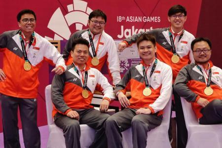 Bridging the gap: Singapore win historic gold in contract bridge