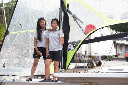 Singapore's sailing duo assured of gold