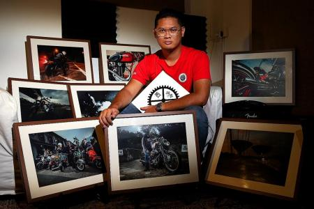 Singaporean helps bikers remember their rides with photo book