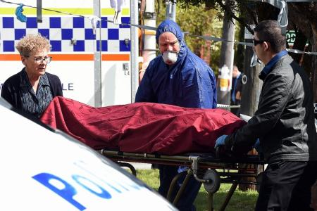 Man accused of killing wife, toddlers in Australia home