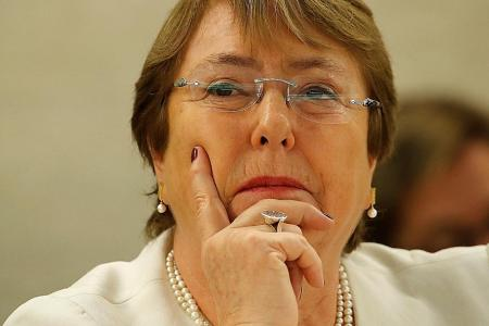 Torture victim Michelle Bachelet now UN human rights chief