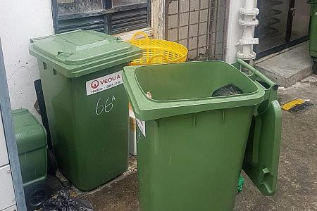 Naked man found sleeping in rubbish bin in Chinatown