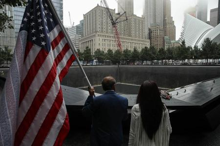 New York commemorates 17th anniversary of Sept 11