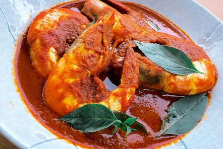 Hed Chef: Curry prawns