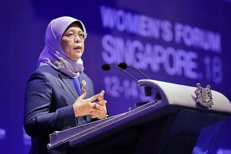 Technology can be catalyst in narrowing gender gap: President Halimah