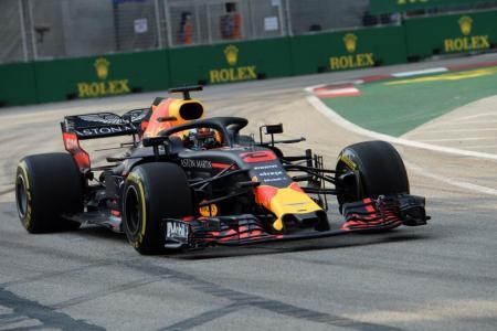 Ricciardo fastest in first practice