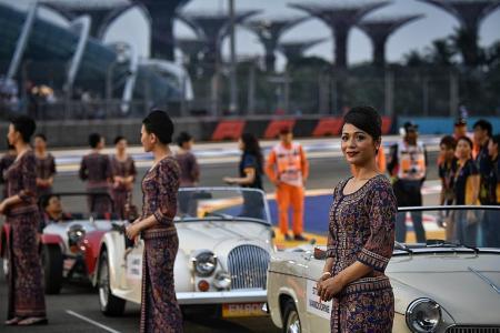 Singapore Grand Prix sees biggest crowd since 2008