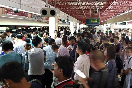 Train commuter's three days of hell
