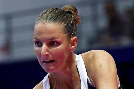 Osaka faces Pliskova in the finals in Tokyo