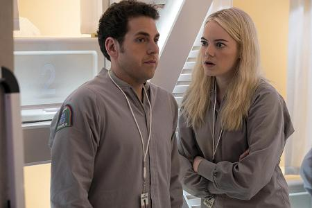 Emma Stone lets fly in Netflix series Maniac