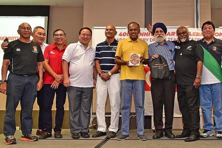 A tale for all Singaporean sport: Leonard Thomas
