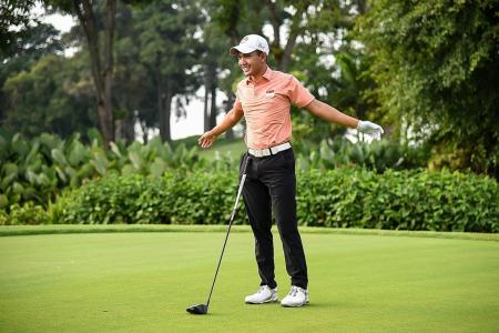 Consistency is key to winning AAC, says Singapore golfer Abdul Hadi