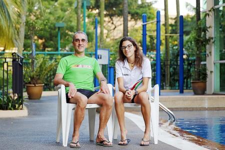Teen triathlete Emma follows in dad's footsteps