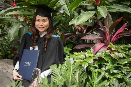 Juggling work, family and night classes to earn degree