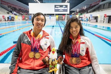 Yip clinches third medal in three events